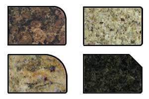 Four Standard Granite Edges